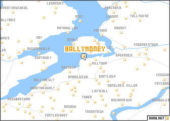 Ballymoney (Ireland) map   nona.net