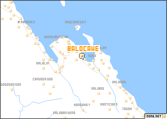 map of Balocawe