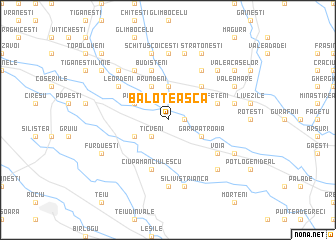map of Baloteasca