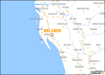 map of Balsaan