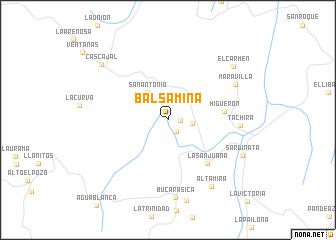 map of Balsamina