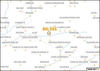 map of Balsas