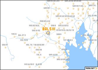 map of Balsik