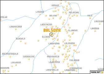 map of Balsora