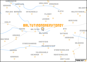 map of Baltutino Nomer Vtoroy
