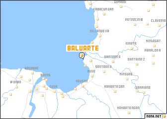 map of Baluarte