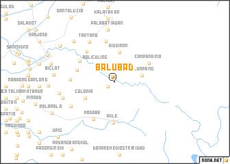 map of Balubad