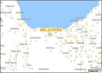 map of Balucanad