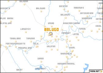 map of Balugo