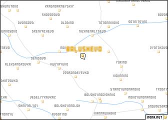 map of Balushevo