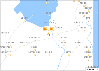 map of Balveï