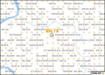 map of Bālya