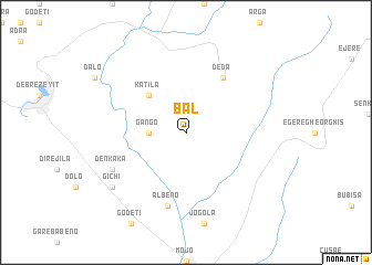 map of Bal