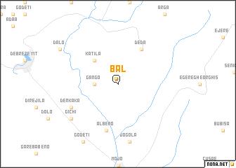 map of Bal