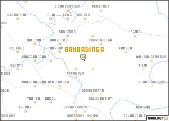 map of Bambadinga
