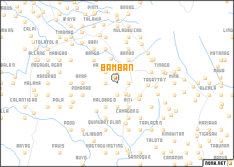 map of Bamban