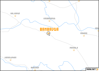 map of Bāmbavda