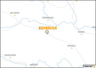 map of Bāmbavda