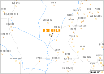 map of Bambele