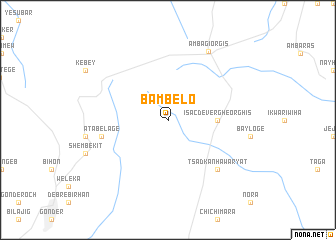 map of Bambelo