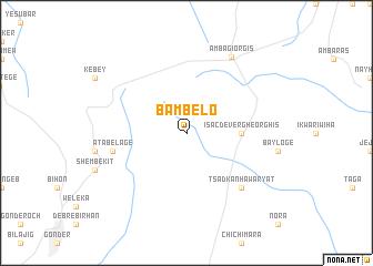 map of Bambelo