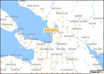 map of Banaag