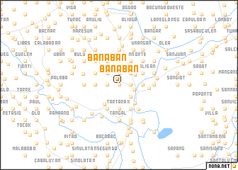 map of Banaban