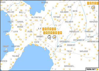 map of Banaba