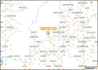 map of Bañacao