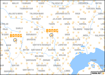 map of Banag