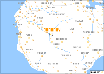 map of Bananay