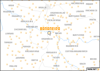 map of Bananeira