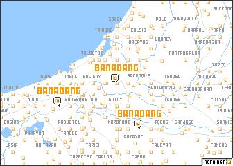 map of Banaoang