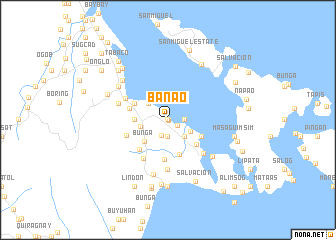 map of Banao