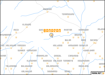 map of Banaran