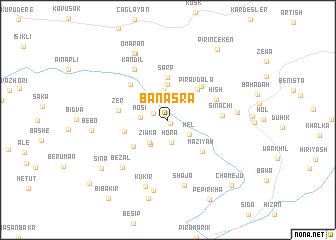 map of Banasra
