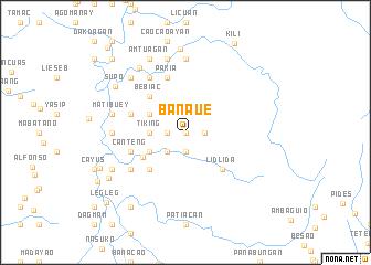 map of Banaue