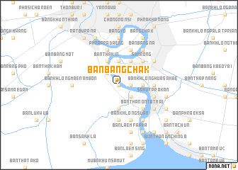 map of Ban Bang Chak