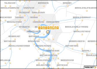 map of Ban Bang Na