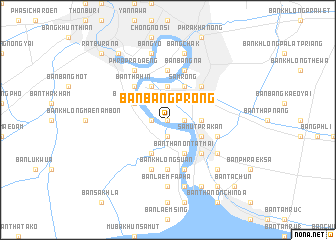 map of Ban Bang Prong