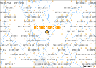 map of Ban Bang Rakam