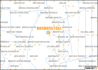 map of Ban Bang Toei