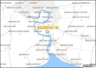 map of Ban Bang Yai