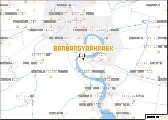 map of Ban Bang Ya Phraek