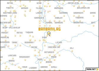 map of Banbanilag
