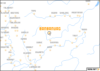 map of Banbanuag
