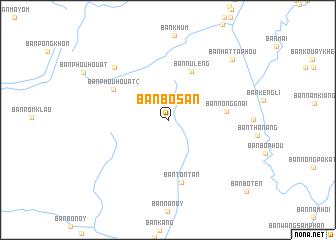 Ban Bosan Laos map nonanet