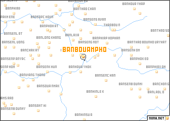 map of Ban Bouampho