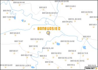 map of Ban Bua Sieo