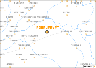 map of Banbwebyet